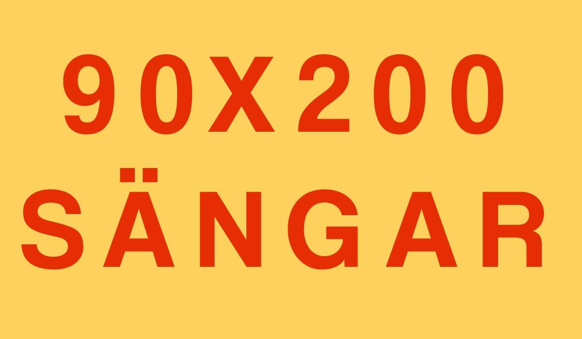 90x200-sängar